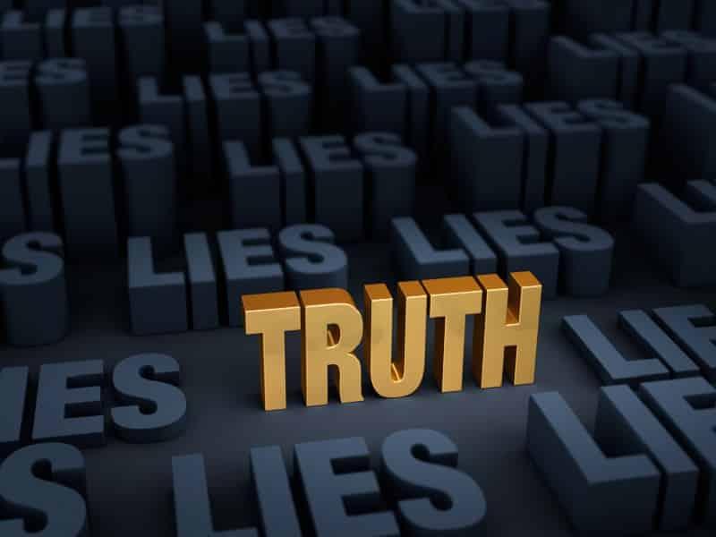 orange truth among lies