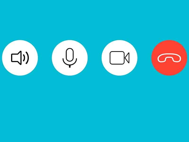 video call icons