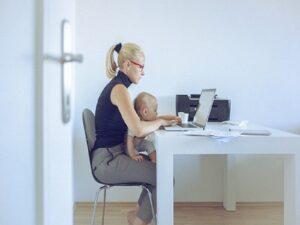 returning to work after children