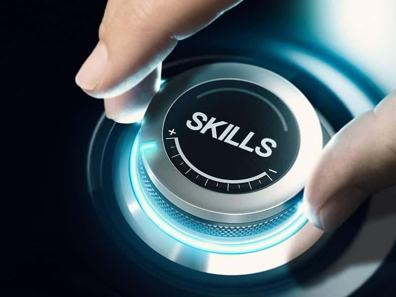 hand turning skills button