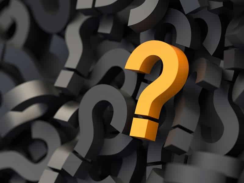 orange standout question mark
