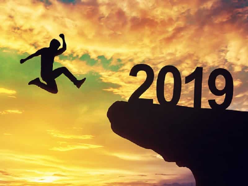 man leaping to 2019