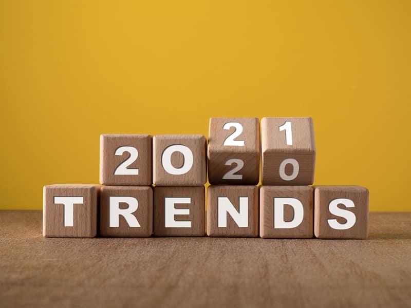 2021 Trend blocks