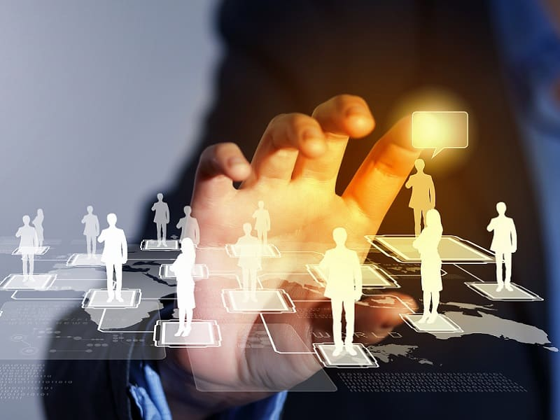 man online networking