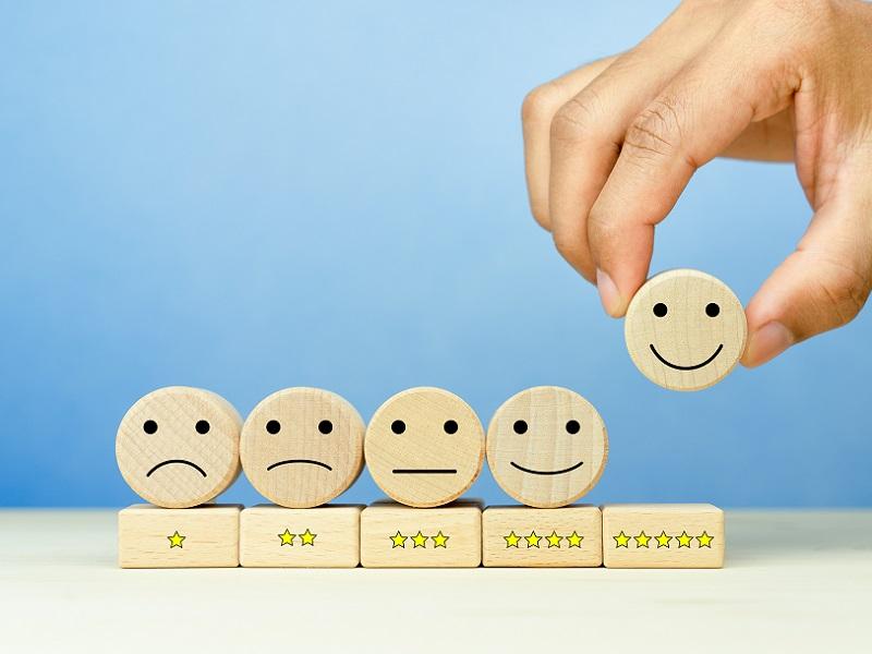 evaluation smiley faces